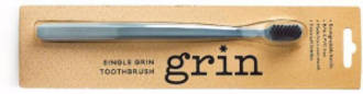 Grin Charcoal-Infused Biodegradable Brush